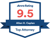 Allan H. Caplan, Top Attorney, 9.5 Avvo rating